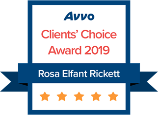 Avvo Clients' Choice Award 2019