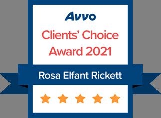 Avvo Clients' Choice Award 2021